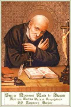 Santo Afonso: o Papa deve ser dotado, antes de tudo, de espírito e de zelo pela honra de Deus.
