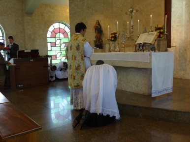 Orações ao pé do Altar