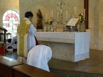 Orações ao pé do altar: confiteor dos fiéis