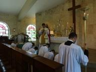 Absolvição antes da comunhão dos fiéis