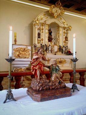 Altar Domingo de Páscoa