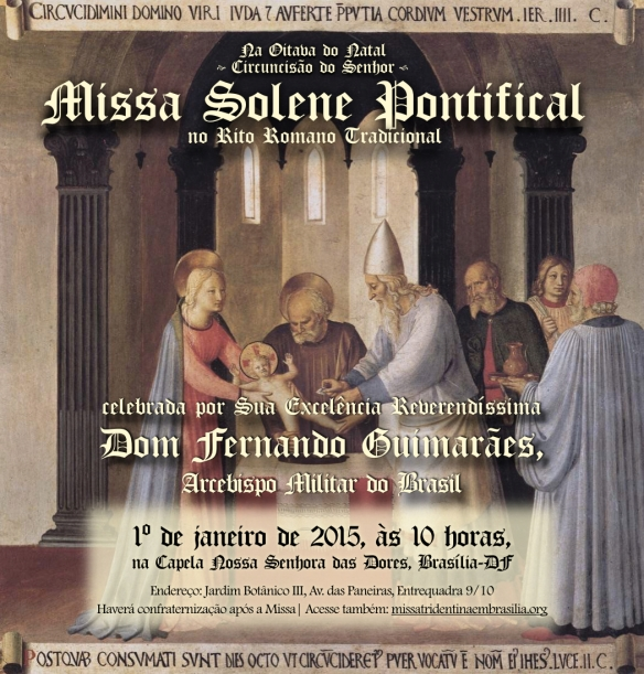 Convite - Missa Solene Pontifical na oitava do Natal 2015.001