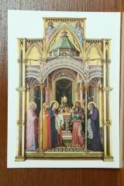 Santinho de lembrança da Santa Missa