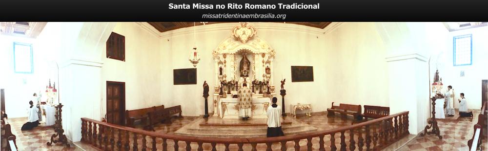 Missa Tridentina em Brasília