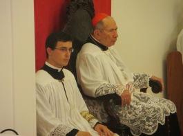 Pe. Tomás Parra, IBP, fará seu apostolado em Brasília, auxiliando o Pe. Daniel Pinheiro. (Na foto, em sua 1ª Missa em Brasília, em 30/08/15.)