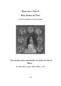Novena Nossa Senhora das Dores 1