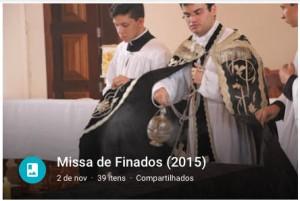 Missa Finados link